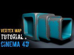 (1) VERTEX MAP TUTORIAL IN CINEMA 4D - YouTube