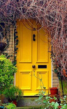 Hampstead, London, England door