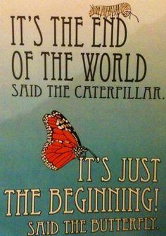 21 de dezembro de 2012 It's the end of the world, said the carterpillar. It's just the beginning, said the butterfly. P A T C H W O R K *d a s* I D E I A S
