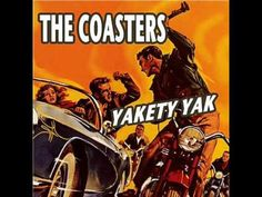 The Coasters- Yakety Yak (with lyrics) Dedicated to Sylvia! So, silly! Rock N Roll Music, Rock And Roll, 50s Music, Silly Songs, Talking Back, Pop Hits, Song List, Sing To Me, Film Music Books