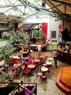 La Bellevilloise | Paris ----INTERIOR GARDEN CONCEPT !!