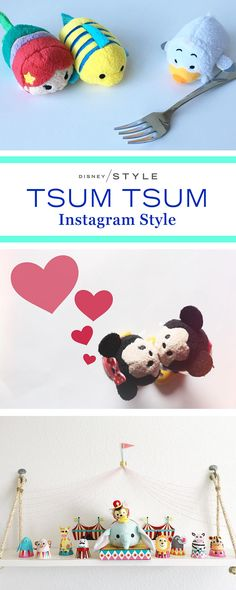 Tsum Tsums are the next big thing on Instagram! | Tsum style | [ https://style.disney.com/living/2016/03/27/the-next-big-disney-thing-on-instagram-is-actually-quite-small/ ]