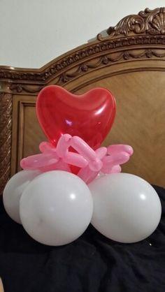 Simple valentine balloon
