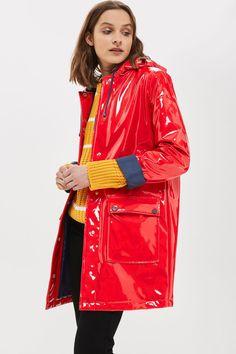 Vinyl Rain Mac - Jackets & Coats - Clothing - Topshop