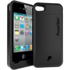 iPhone 4 y 4S - Carregador Bateria PowerSkin - 1500mAh
