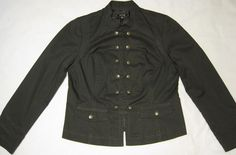 APT.9 women fashion jacket size large 12 buttton front size large #Apt9 #FashionJacket