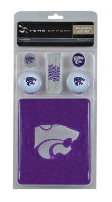 Team Effort NCAA Golf Gift Set - Kansas State University