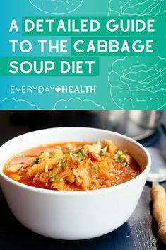 Can the cabbage soup diet actually help you lose 10 pounds in 1 week?