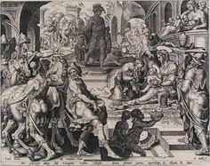 Maerten van Heemskerck, The Adoration of the Magi, 1570