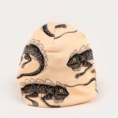 Lizzard Beanie - Pink / Mini Rodini - Söt by Sweden Rodin, Tween, Organic Cotton, Baseball Hats, Beanie, Mini, Happy, Accessories, Boys