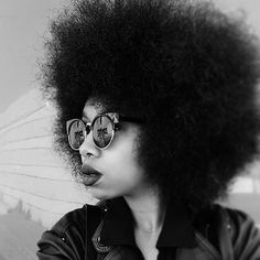 Happy Fro - Friday! @blackbeautybag stays fly...