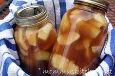 Mommy's Kitchen: Apple Pie Filling in a Jar