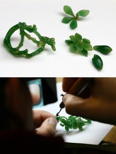 Wax carving...♡