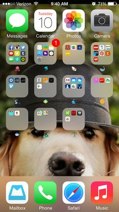 Organizando apps