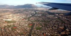 Takeoff from Cape Town International Airport in a Kulula plane, with Table Mountain in the background Virgin Atlantic, Table Mountain, Airports, International Airport, Cape Town, Airplane View, South Africa, Transportation, African