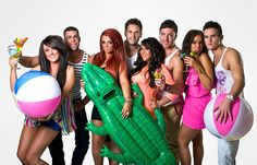 Geordie Shore It is like a train wreck but you just cant stop watching