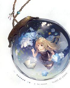 Anime girl Loli Kawaii, Kawaii Anime Girl, Anime Art Girl, Anime Guys, Manga Anime, Pretty Anime Girl, Beautiful Anime Girl, Anime Snow, Cute Girl Wallpaper
