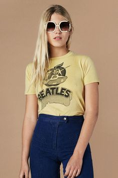 Un vintage: los ´70 Jean extra alto