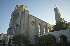 Madonna della Strada chapel, Loyola, Chicago.