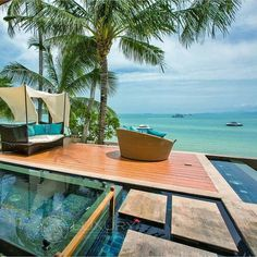 """@Regrann from @luxuryworldtraveler -  Incredible views @upniduniya form their master suite. Upni Duniya luxury villas in Koh Samui Thailand offer all the serenity of a private residence coupled with all the ammenities of a 5 Star Hotel. For more information about this spectacular destination please email us at travel@luxwt.com  #thailand #trip #kohsamui  """"Dream  Big Eat Well & Travel On!""""   #TravelAwesome #travel #Motivation #travelgram #beautifuldestinations #sea #ocean #luxurylistings…"""