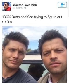 And Sam is just laughing at these two idiots because he actually knows how to use technology unlike these dorks