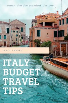 Italy on a budget: The PERFECT travel guide - Planning some Italy travel on a budget? This Italy budget travel guide has tips on how to save mone - Italy Travel Tips, Budget Travel, Travel In Europe, Cheap Travel, Travel Ideas, Europe Destinations, Bucket List Europe, Things To Do In Italy, Budget Planer