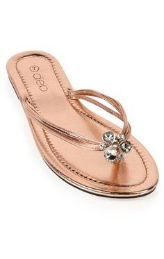 Deb Shops #rose #sandal