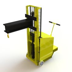 A bespoke design development and build of a 'Specialised Counterbalanced Hoist' for Nottingham Trent University. The system is intended to fulfil potential CNC Machine capabilities, housed at the university, and thereby increase material and tooling selection available. Particular emphasis was directed to the chassis and hydraulic lifting mechanism.