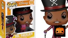 4791f77adda Funko POP Vinyl Dr Facilier No 150 Unboxing!Review Disneys Princess And the  Frog