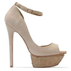 Benjamin Adams Toronto Beige - Wedding Shoes - Crystal Bridal Accessories