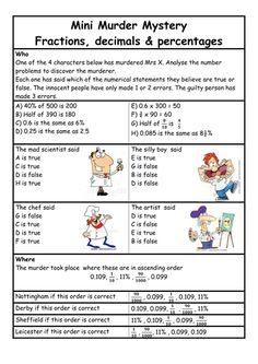 This is an engaging KS4 activity to teach Fractions, Decimals and Percentages. I've used this at KS4 as a revision of the topics in preparation for a module exam. Could be used at KS3 also with a fairly competent class....