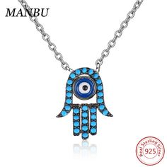evil eye jewelry -evil eye hand chain blueevil eye bead sterling silver evil eye necklace with chain greek mati evil eye necklace #manbu #silver #silverjewelry #sterlingsilver #sterling #jewelry #jewelrydesign #jewelrymaking #design #evil #eyes #evileye #pendant #pendantnecklace #beauty #beautiful #blue #gifts #fashion #giftsforher #giftideas
