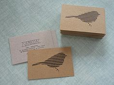 business cards by (Ma+Chr)