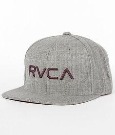 RVCA Twill Snapback Hat 81ded46a602d