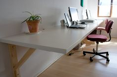 wall mounted work table