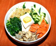 Vegan bibimbap made with quinoa food healthy healthy food healthy eating food images food pictures vegan quinoa bibimbap