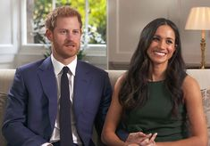27 Nov 2017 - Meghan Markle & Prince Harry engagement interview