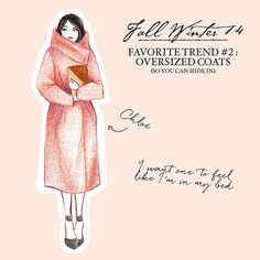 On the blog, favorite trends part II ☀️ #illustration #FW2014 http://cirquedepapier.fr
