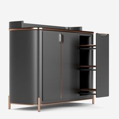 Every single room has a storage need, where a contemporary cabinet or modern buffets can certainly be fitted. #bocadolobo #buffetsandcabinets #designnews #designinspiration #celebratedesign #interiordesign #designlovers #designbook #furnituredesign #luxuxryfurniture #interiordesigninspiration
