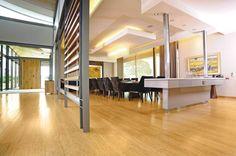 bamboo dining room flooring