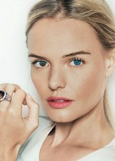 "Kate Bosworth- her ""flaw"" is her most beautiful and interesting feature to me. Do you see it?!"
