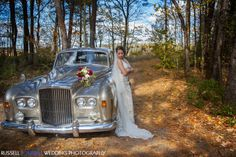 We adore this Bentley! Tour Maine in style on your wedding day. Photo by @Russell Caron Photography, Inc.  www.realmaineweddings.com