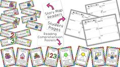 Story Map Bundle!  Posters, story map headers, and student pages