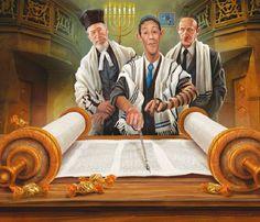 É a cerimônia judaica que marca a passagem de um garoto à vida adulta, aos 13 anos. A partir dessa idade, ele assume sua maioridade religiosa e passa a ter responsabilidades perante sua comunidade e …