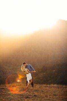 sunset mt tam san francisco engagement » BrittRene Photo