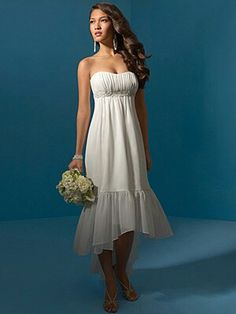 Perfect for a casual beach wedding