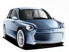 De nieuwe DAF 99? New DAF 99? Car Design Sketch, Truck Design, Volvo, New Renault, Car Advertising, Citroen Ds, Small Cars, Future Car, Retro Design