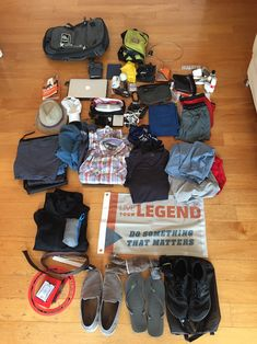 """87 Things, 28.1 lbs: How My Wife & I Pack 1 Carry-On for a Year Around the World"" http://prsm.tc/yyWR9i"