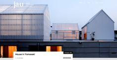 dezain.net • 島田陽による兵庫県の住宅「山崎町の住居」(JA+U)