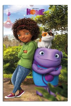 Home Dreamworks Movie Group Poster